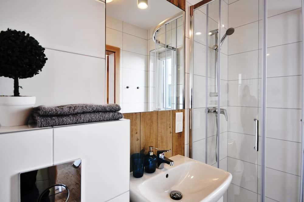 Appartement, 1 grand lit et 1 canapé-lit, non-fumeurs - Salle de bain
