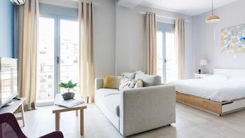 A(z) Omnia Pagrati Apartments hotel fényképe itt: Athén