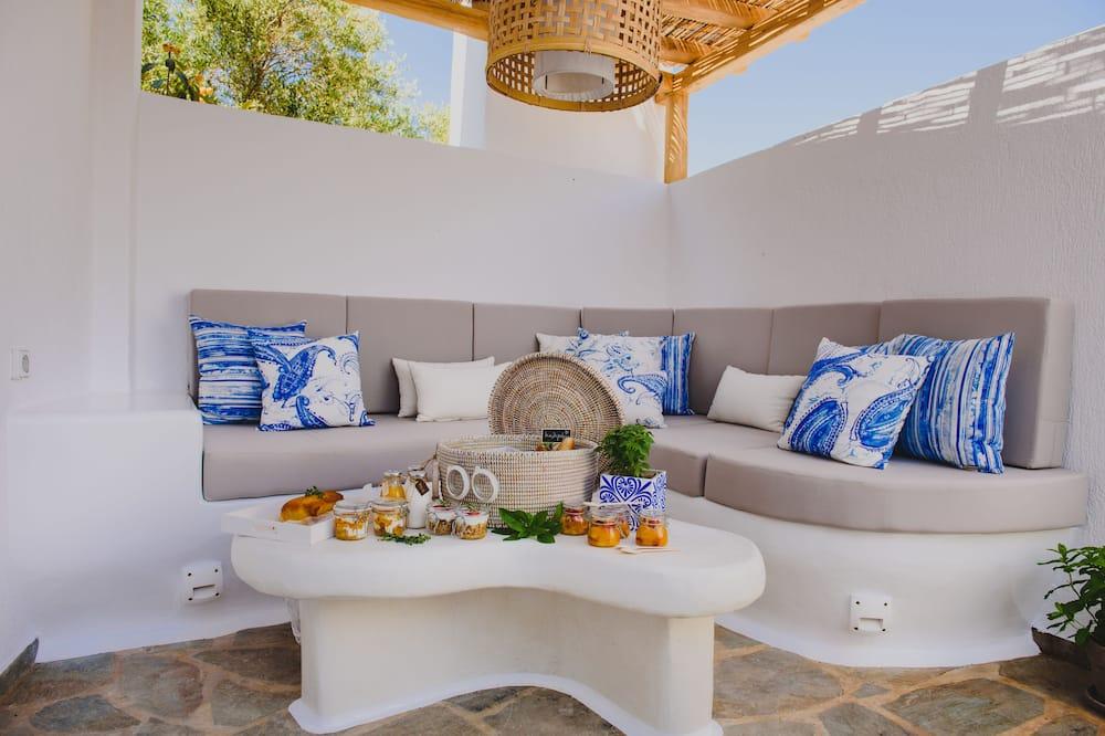 Розкішна вілла, 1 спальня, ванна з гідромасажем, з видом на море - Житлова площа