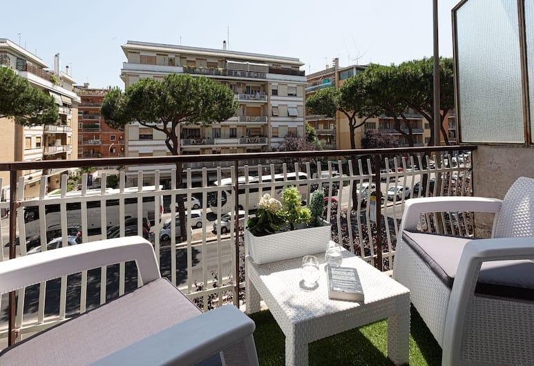Da Vinci Relais, Rome, Deluxe Double Room, Balcony, Guest Room