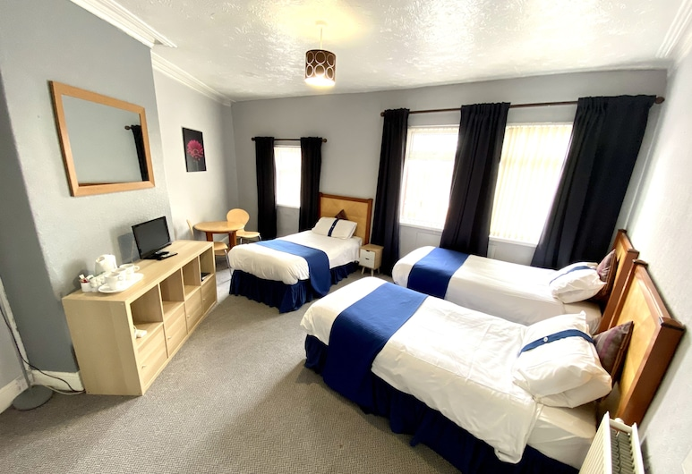 The Stalbridge Guest House, Liverpool, Basic Triple Room, Guest Room