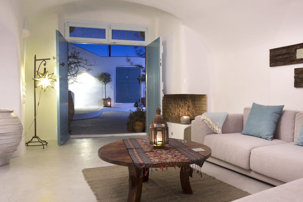 Villa Deluxe, 4 chambres (With Outdoor Hot Tub) - Coin séjour