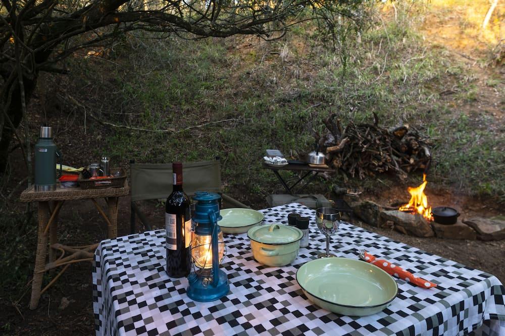 Honeymoon Tent, 1 Bedroom - Shared kitchen