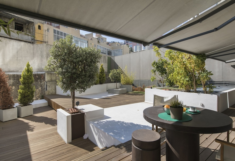 Marques de Pombal Trendy Apartment, Lisbon, Apartment, 1 Bedroom, Non Smoking, Patio, Terrace/Patio