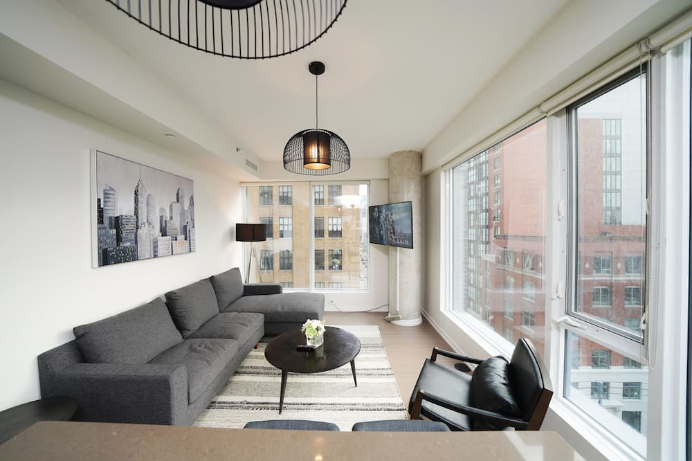 Poslovni apartman, 1 bračni krevet, za nepušače, pogled na grad - Interijer – ulaz