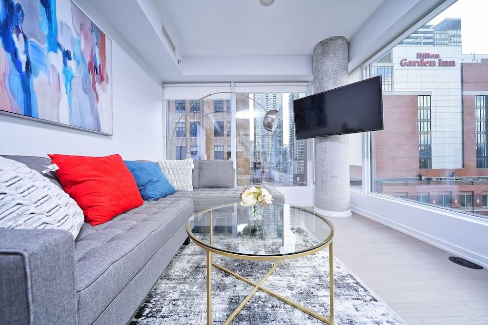 Apartman u centru - Dnevni boravak