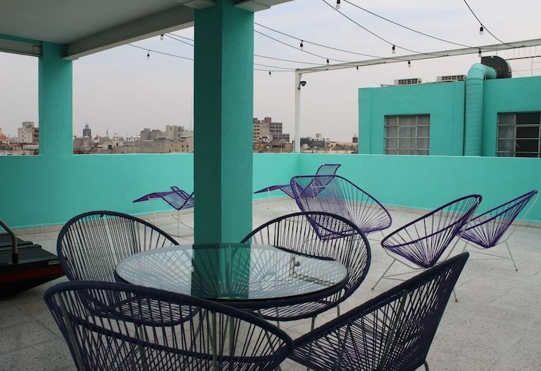 Departamento Angélica Rosas Ramirez, Mexico City, Terrace/Patio