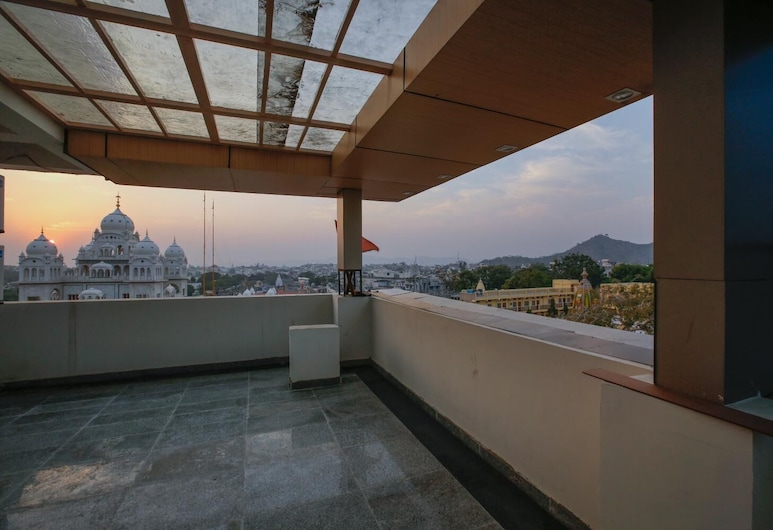 Hotel Krish Palace, Ajmer, Balcone