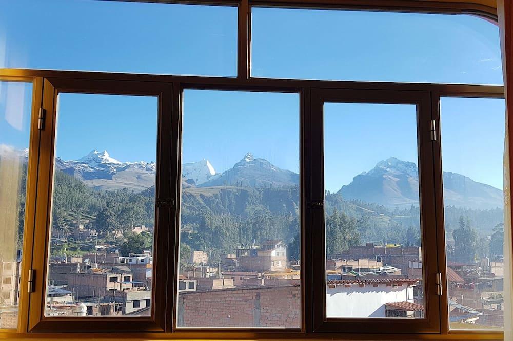 Tweepersoonskamer, uitzicht op bergen - Uitzicht vanaf kamer