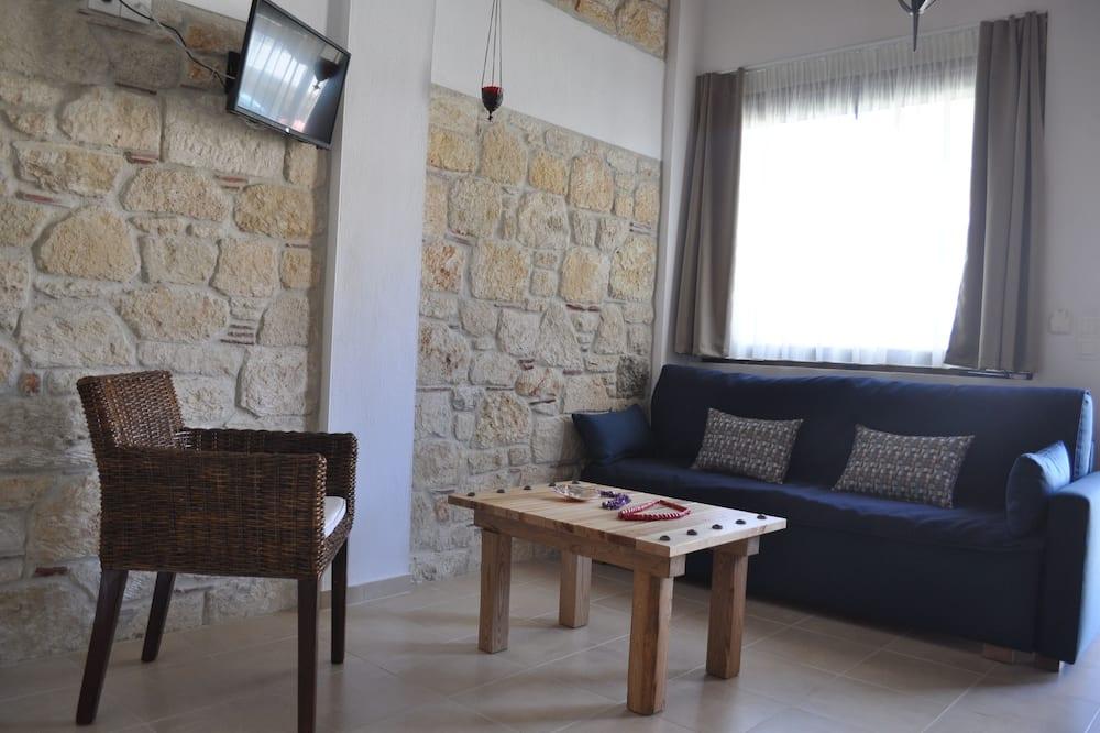 Appartement Deluxe (3) - Salle de séjour