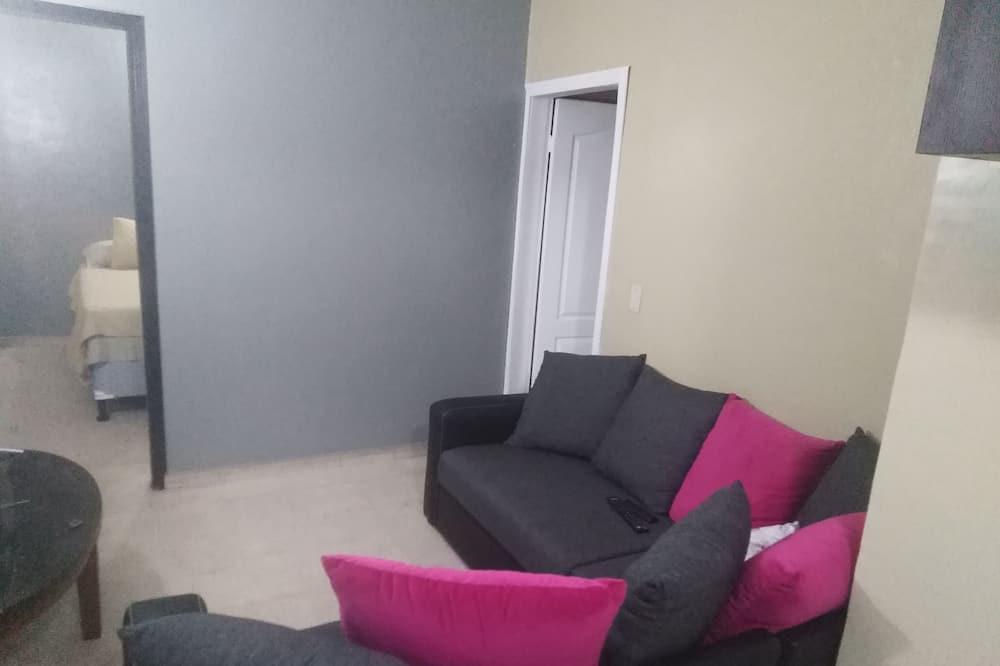 公寓, 1 張加大雙人床 - 客廳