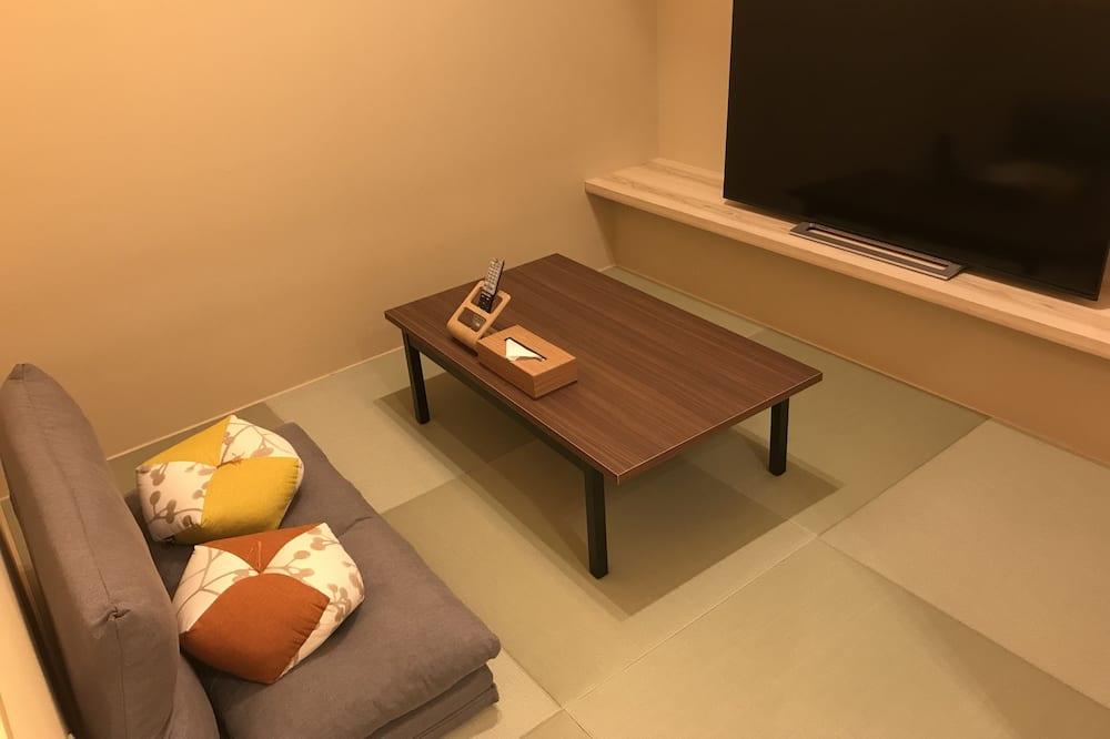 Habitación Deluxe con 2 camas individuales, para no fumadores - Sala de estar