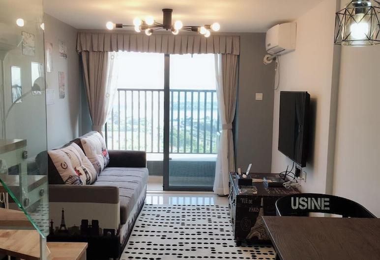 Guangzhou Accorda Apartment, Guangzhou, Living Room