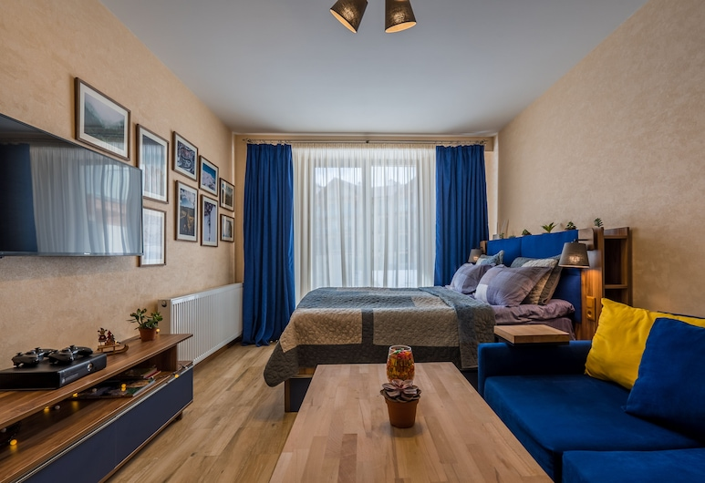 HaveaRest Gudauri, Kazbegi, Apartment, Courtyard View, Room