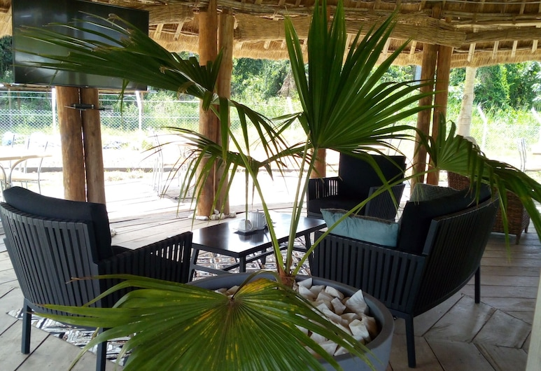 Sanaga Beach Lodge, Nkoteng, Terrace/Patio