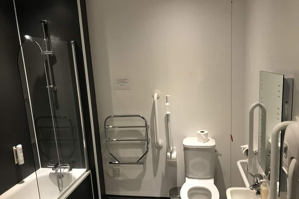Executive-Suite, mit Bad - Badezimmer