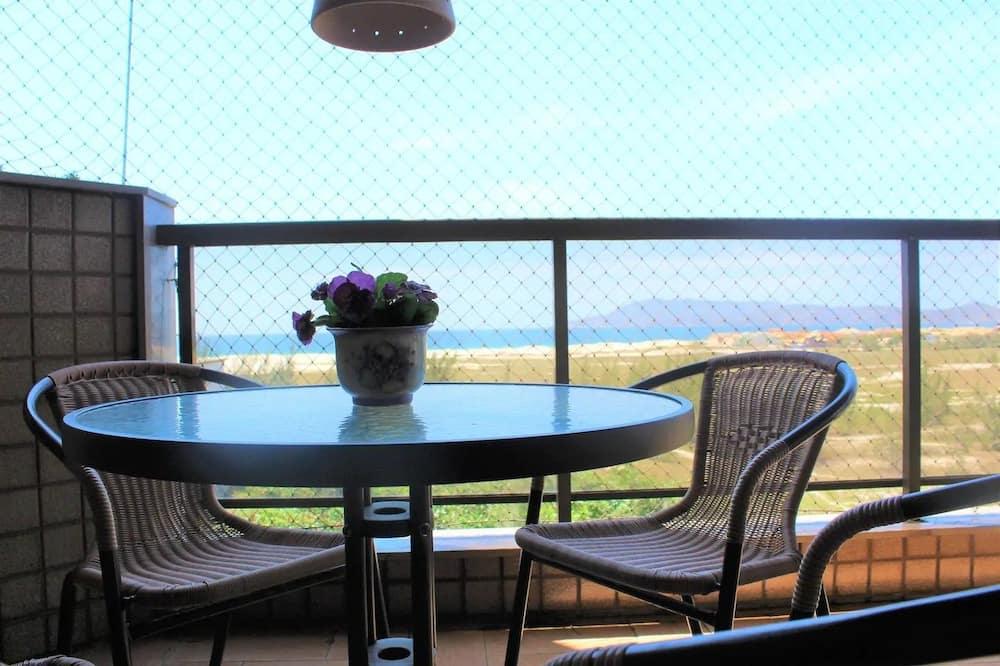 Bonito e confortavel 3 quartos  Vista Mar - Parveke