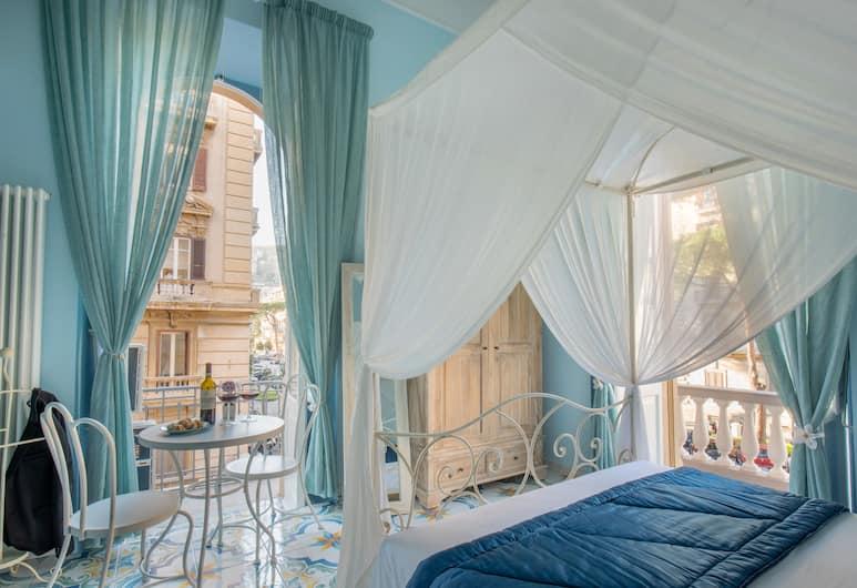 Regina Elena, Naples, Chambre Double Deluxe, balcon, Chambre