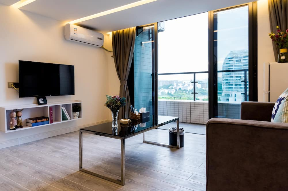 Superior Double Room - Living Room