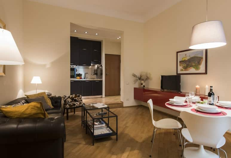 Servi Gallery, Florence, Apartment, 1 Bedroom, Living Area