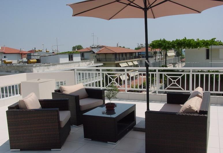 Harisis Apartments, Katerini, Superior Stüdyo, Balkon, Balkon