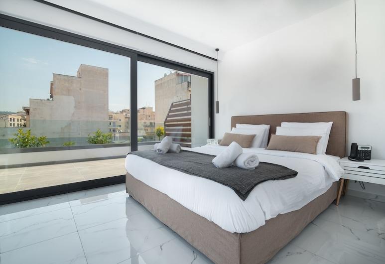 Vitruvius Smart Hotel & Spa, Athén, Deluxe lakosztály (Spa Shower), Kilátás a városra