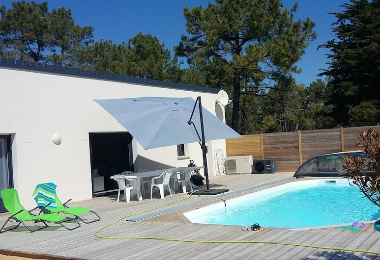 Villa With 3 Bedrooms in Saint-jean-de-monts, With Private Pool, Enclosed Garden and Wifi, Saint-Jean-de-Monts