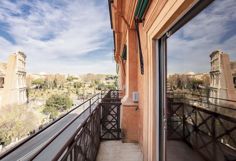 Sweet Inn - Colosseo View, Rím, Apartmán typu Deluxe, 3 spálne, Balkón