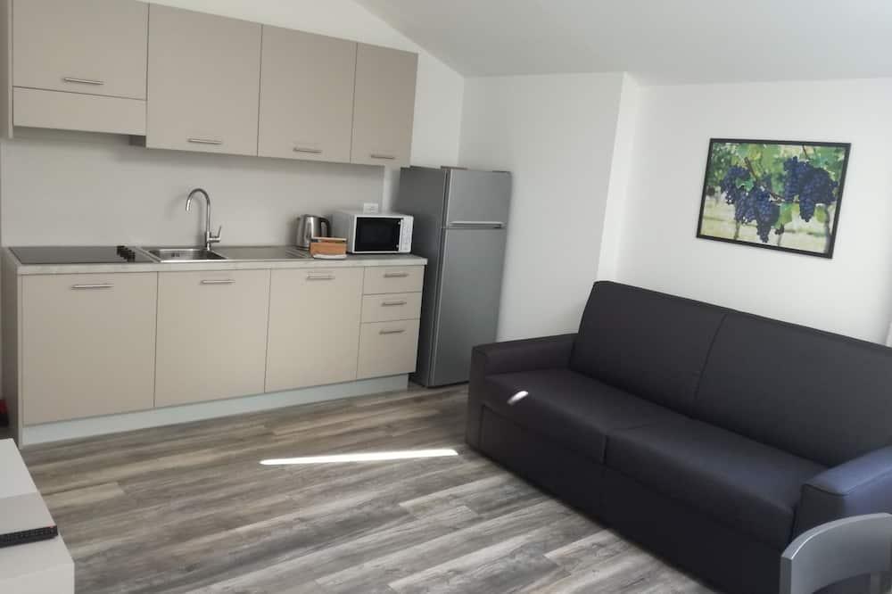 Comfort-lejlighed - 1 soveværelse - Opholdsområde