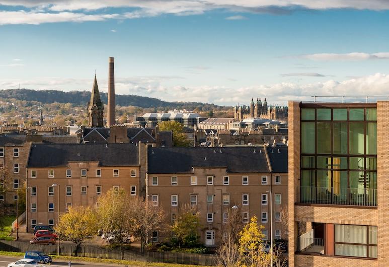 Silver Lining - Penthouse with parking, Edinburgh, Terasa