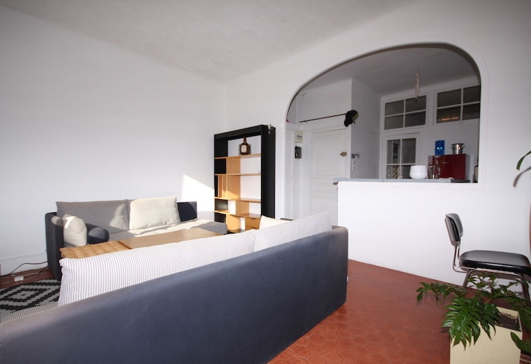 Le confort, Cassis, Apartment, 1 Bedroom, Living Room