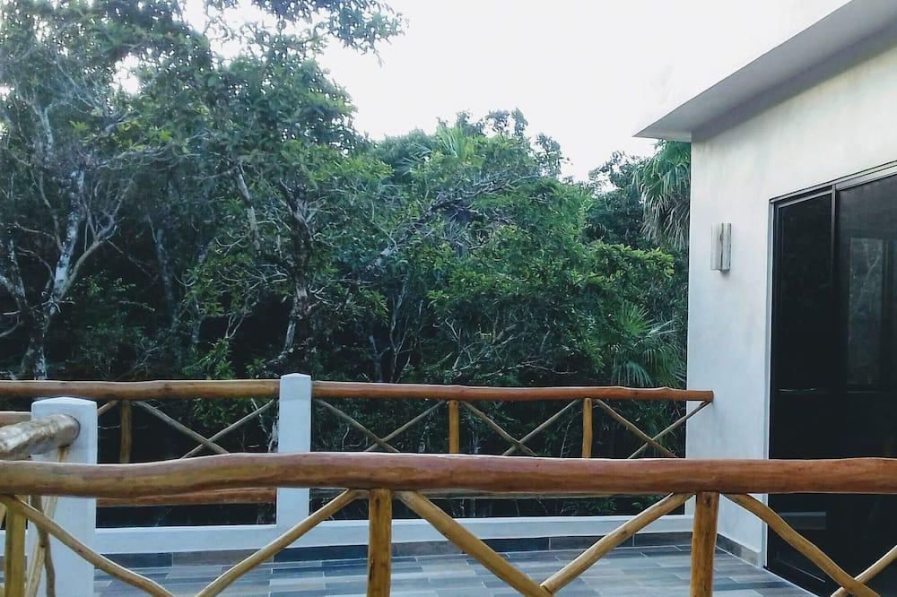 Habitación panorámica doble Esplendor, baño privado, terraza exterior - Altan