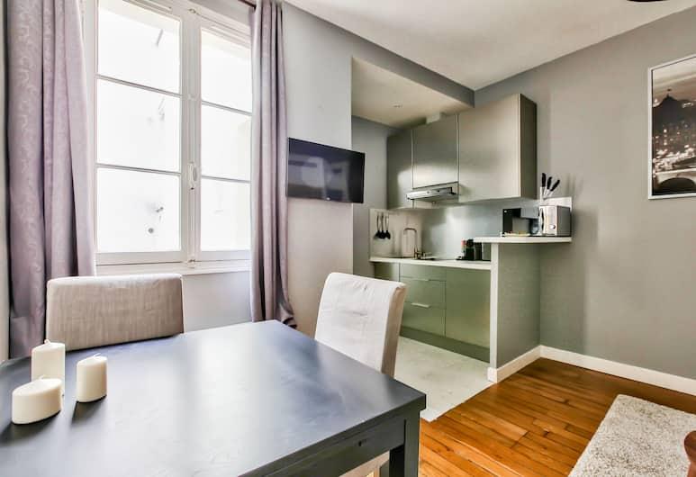 48 - 巴黎瑪黑閣樓公寓飯店, 巴黎, 基本公寓, 客廳
