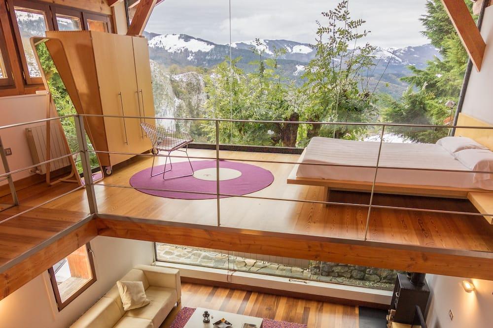 Superior Apartment, Terrace, Mountain View - Living Area