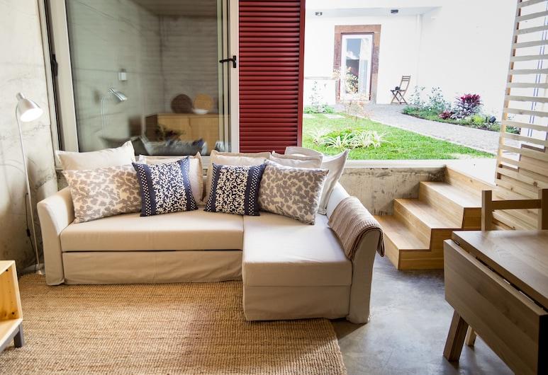 莫卡多民宿, 芳夏爾, 時尚公寓, 1 間臥室, 花園, 客廳