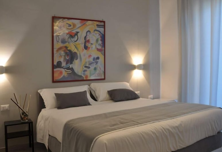 F Rooms, Naples, Quarto Duplo ou Twin Deluxe, Varanda (#1), Quarto