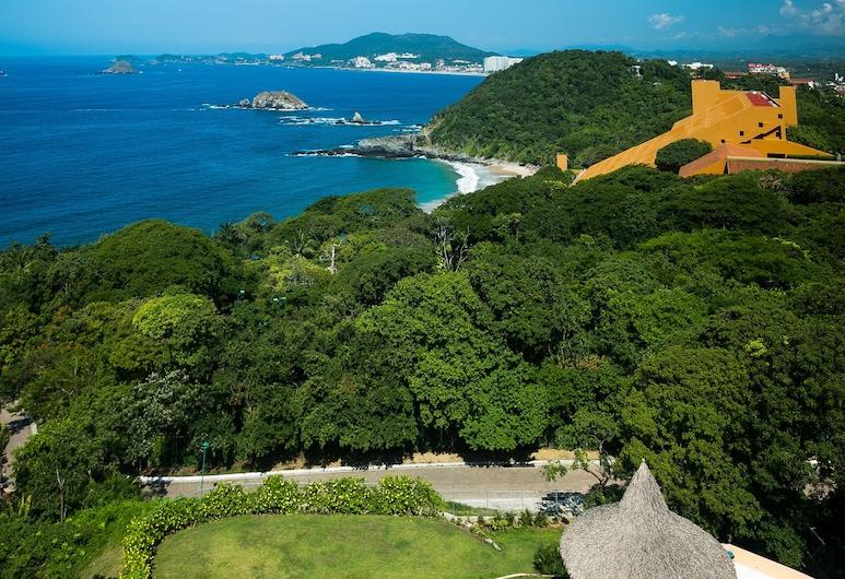 Luxe appartement met prachtig uitzicht op de oceaan, Ixtapa, Zwembad