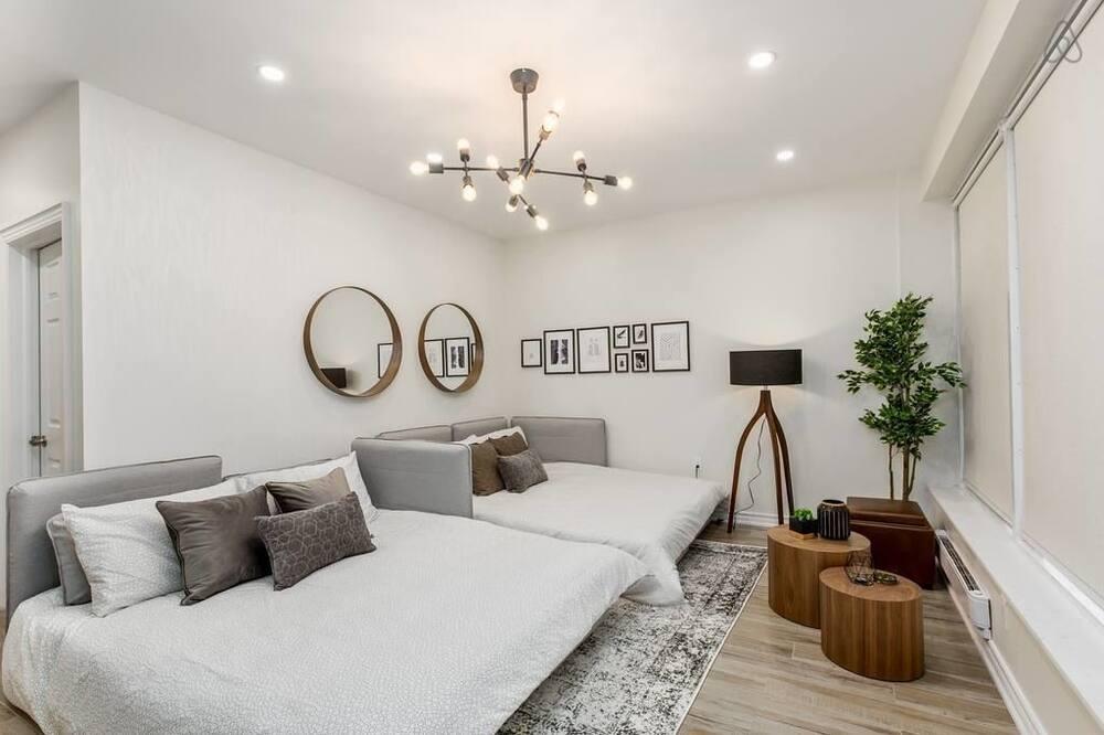 Luxury Apart Daire, 2 Yatak Odası - Oturma Alanı
