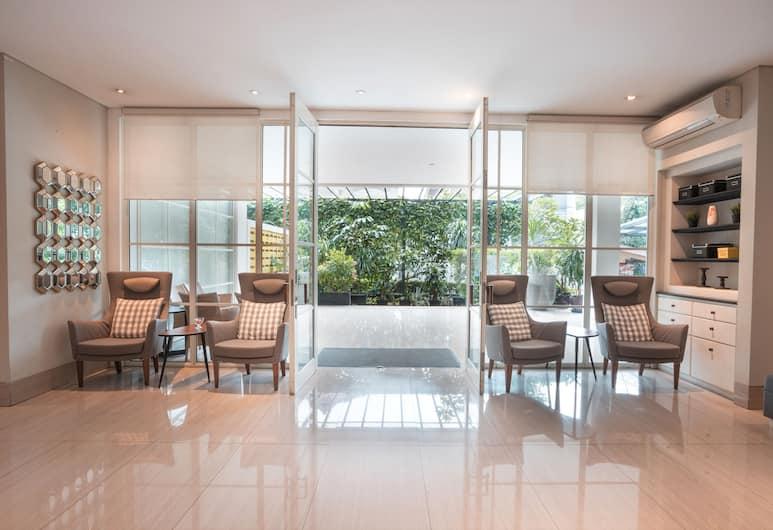 OYO 349 Havenwood Residence, Jakarta, Ruang Duduk Lobi