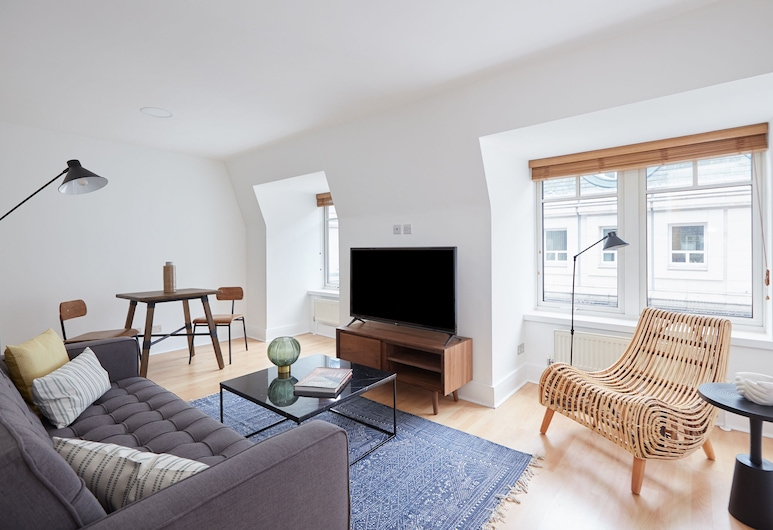 松德爾酒店 - 傑爾明街, 倫敦, 特色套房, 2 間臥室, 客廳