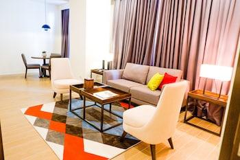 마닐라의 호텔 럭키 차이나타운 사진
