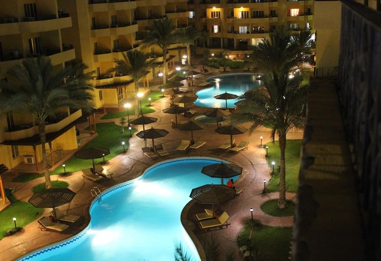 Pool View Apart At British Resort 252, Hurghada, Außenpool