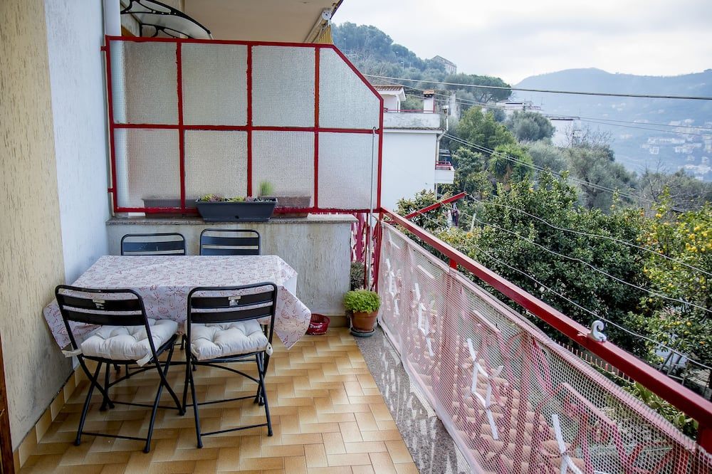 Коттедж, 1 спальня - Балкон