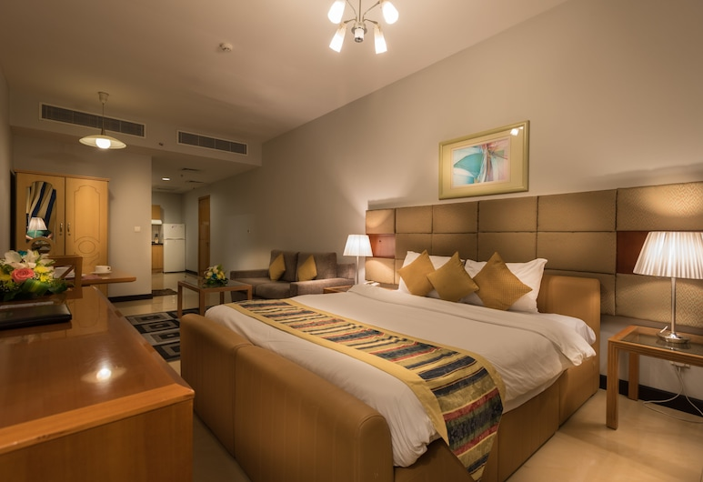 Grand Square Stay Hotel Apartments, Dubai, Studio, Vierashuone