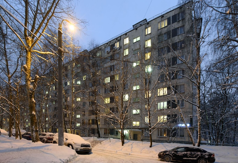 Domumetro Apartment on Vernadskogo 89, Moskova, Otelin ön cephesi
