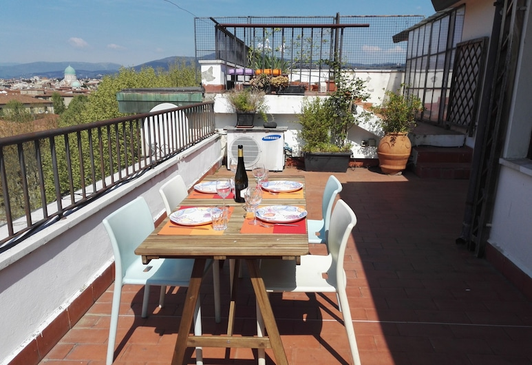 Flospirit - Penthouse with City View, Florence, Terrace/Patio