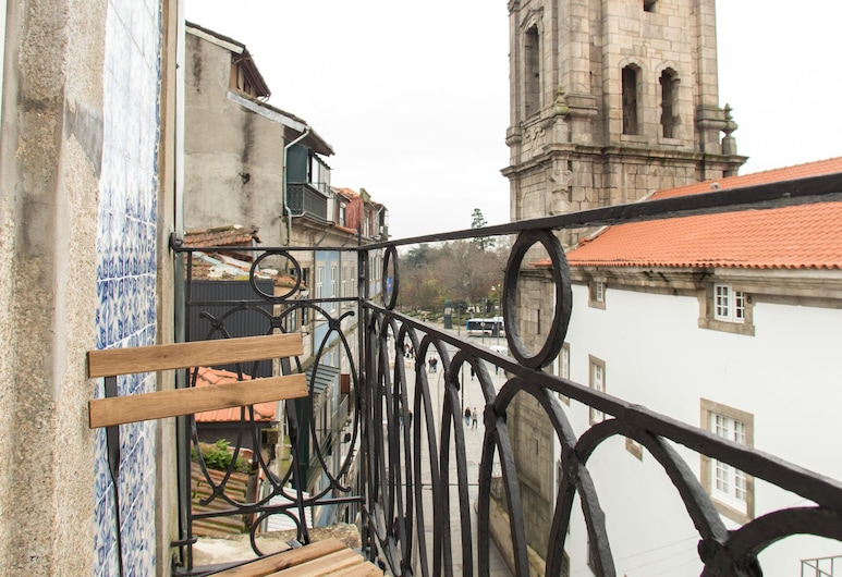 Porto and Clérigos Views by Porto City hosts, Oporto, Departamento Premium, 1 habitación, para no fumadores, vista a la ciudad (1), Balcón