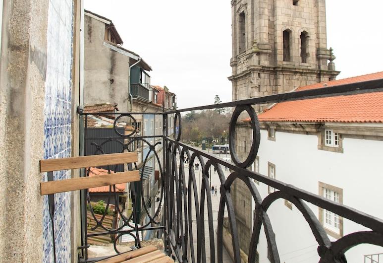 Porto and Clérigos Views by Porto City hosts, Porto, Leilighet – premium, 1 soverom, ikke-røyk, utsikt mot byen (1), Balkong