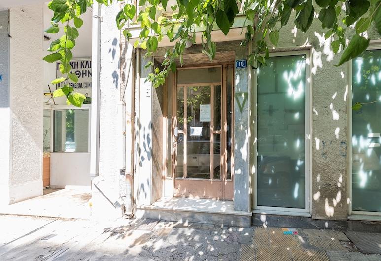 アテネ ウェルカム スイーツ アパートメントツ, アテネ, 施設の入り口