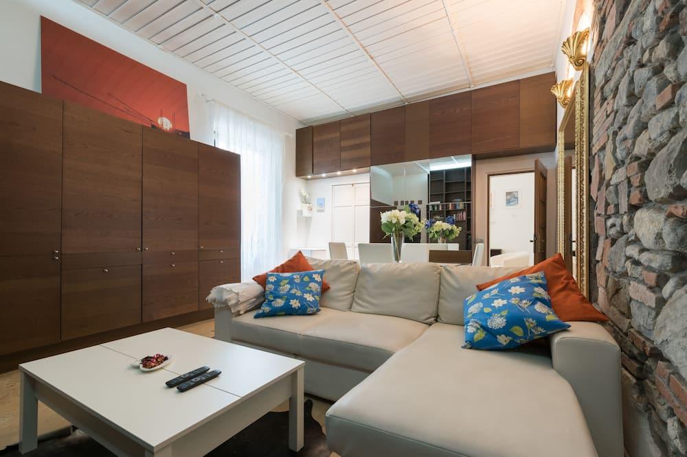 아파트, 침실 1개, 금연 - 거실 공간